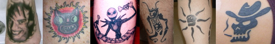 Oingo Boingo Tattoos Rotating Header Image